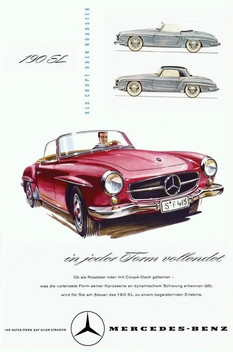 classic mercedes magazine advertisement