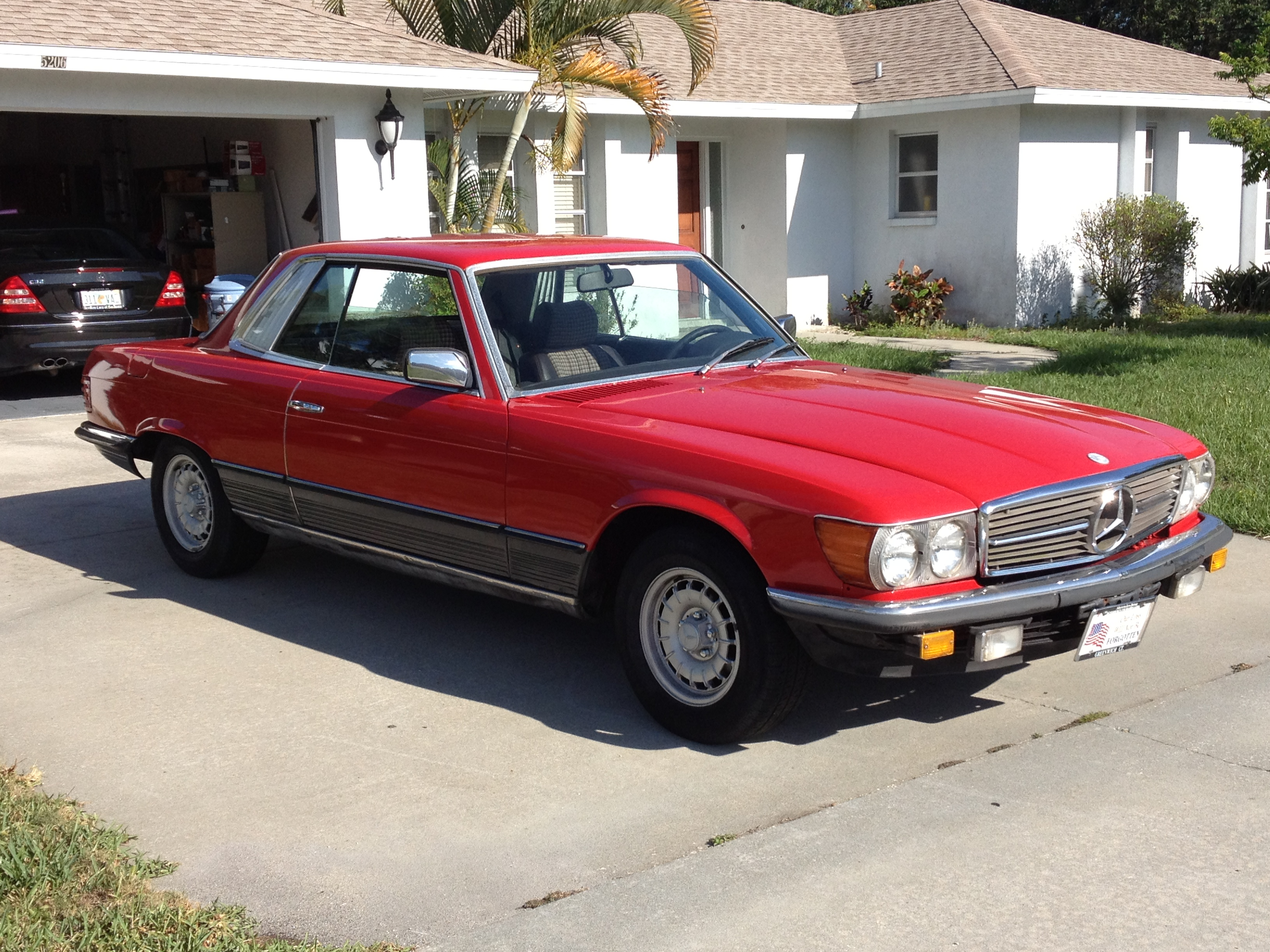 1980 Mercedes-Benz 450SLC Rally Type Car